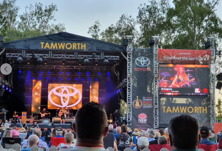 EL Cosgrove Tamworth Country Music Festival