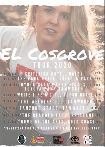 EL Cosgrove 2020 Tou