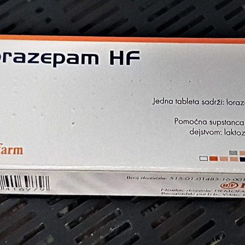 Ativan 1 mg -(Lorazepam)