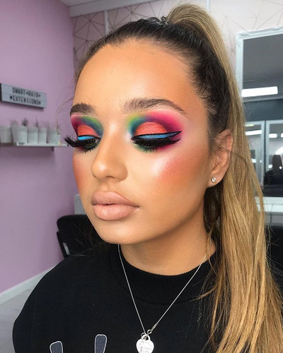 Had so much fun creating this look with