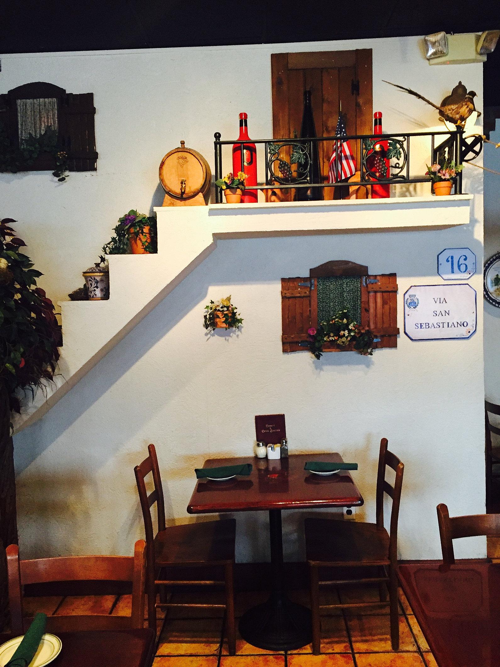 Villa Bella Restaurant Burke Va Menu