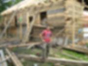 Будівництво деревяного будинку в Львові