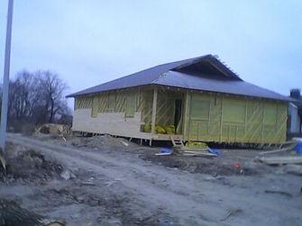 Будівництво каркасного будинку в  Києві