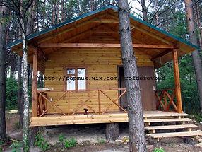 Каркасний будинок для отдыхающих