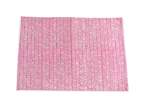 Vakr Placemat | Pink Table Mats | Saar Lifestyle