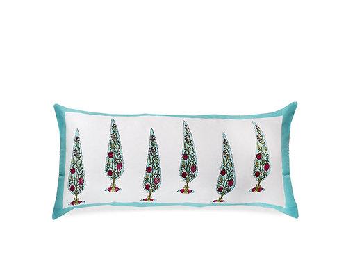 """Sarayu Lumbar Pillow   Decorative Throw Pillows   36"""" x 15""""   Saar Lifestyle"""