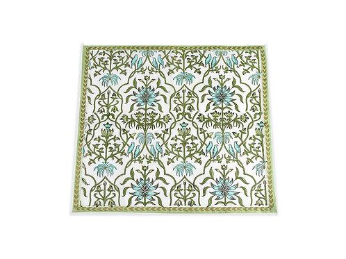 Indus Napkin | Hand Bock Printed Dinner Napkin | Saar Lifestyle
