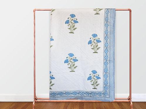 Neela Khasakhas Hand Quilted Comforter