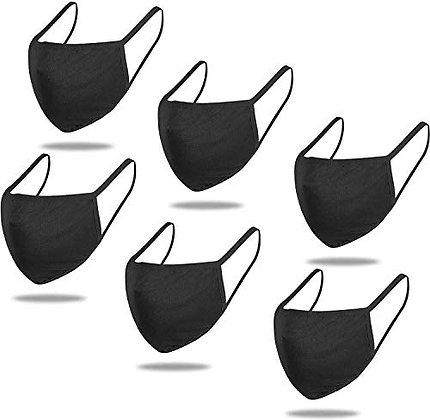 Mascarilla Negra triple capa Talla M
