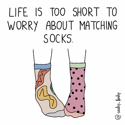 Socks print