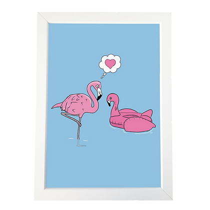 """Flamingo"" poster"