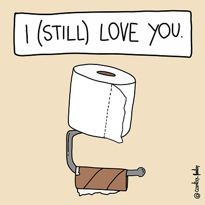 (Still) love you print