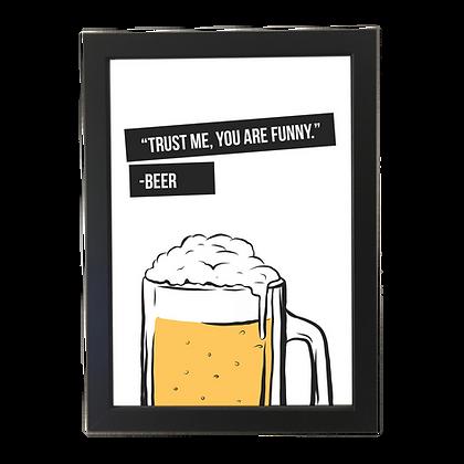 """Beer"" poster"