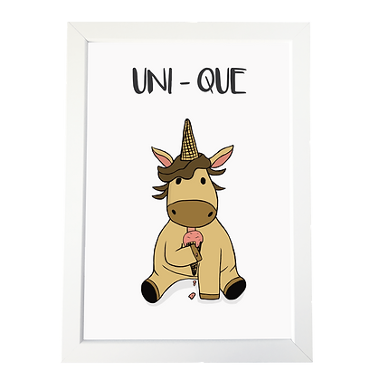 """Unicorn"" plakat"