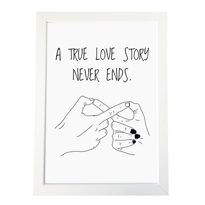 """""""Love story"""" poster"""