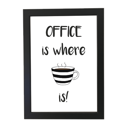 """Office coffee"" plakat"