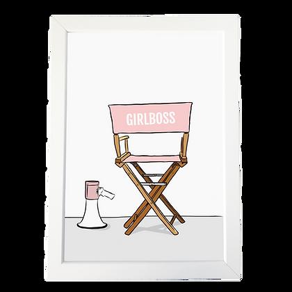 """Girlboss"" poster"