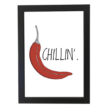 """""""Chillin"""" plakat"""