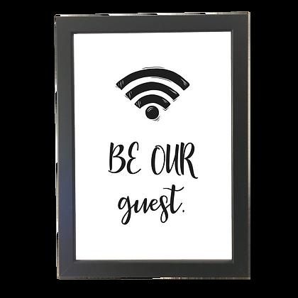 """""""Guest"""" plakat"""
