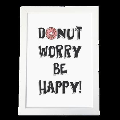 """""""Donut"""" plakat"""