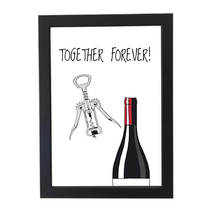 """Together forever"" poster"