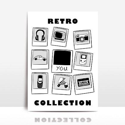 """Retro collection"" voščilnica"