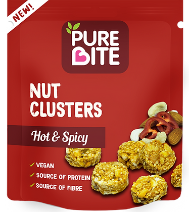 Hot & Spicy Nut Clusters Box of 10