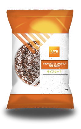 Chocolate & Coconut Rice Cakes 8 x 39g