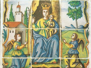 Els goigs a Santa Maria: puix de vós ens ha nascut