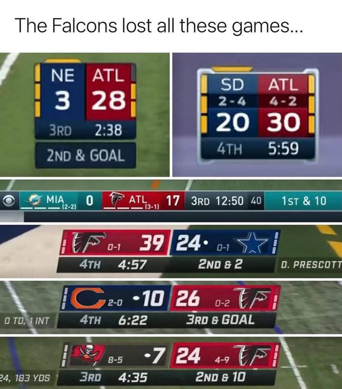 Falcons Choke