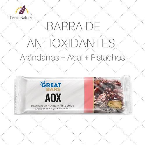 Barra de Antioxidantes