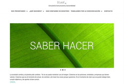 Página web de B-Leaf