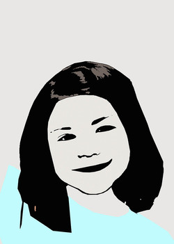 ilustración de un rostro de mujer