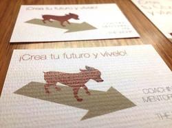 Tarjeta de impresión realizada en Madrid