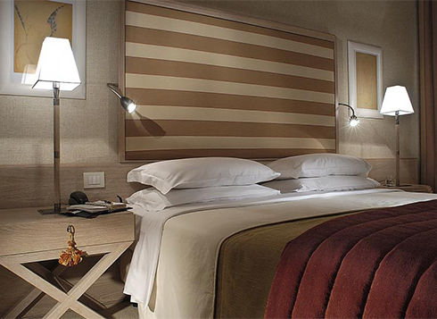 Exquisite guestroom lighting from Florence, Italy… Need we say more? And if don't be fooled into thinking Italian Manufacturing equals long lead times for expensive product… MLE is VERY reasonably priced with lead-times that can compete with any other lighting manufacturer. Incredibly beautiful and thoughtfully functional, MLE Lighting is Molto Bello!!
