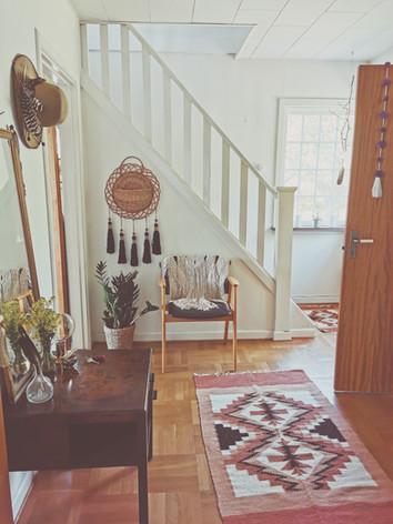 hallway in main house