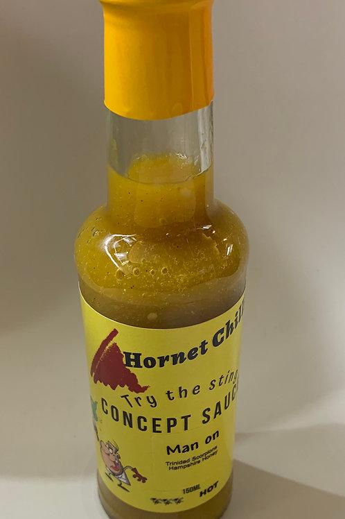 Concept sauce - Trinidad Scorpions, Lemon & North Hampshire Honey