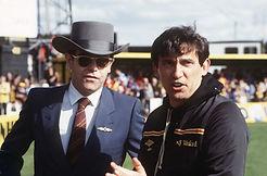 Image  Elton John and Graham Taylor