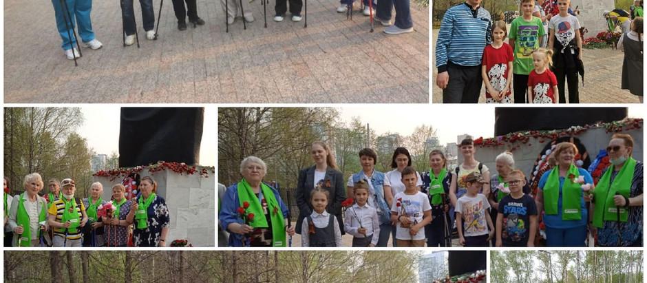 9 апреля - 9 мая 2021 - первый месячник  северной ходьбы и здоровья