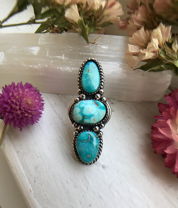 Triple Blue Turquoise