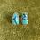 Thumbnail: Egyptian Turquoise Studs | Pair D