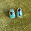 Thumbnail: Egyptian Turquoise Studs | Pair A