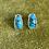 Thumbnail: Egyptian Turquoise Studs | Pair B