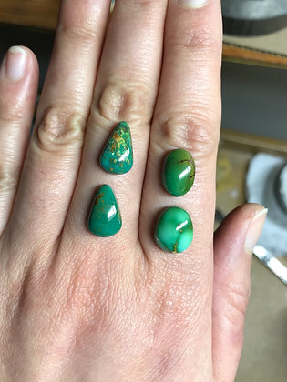 Sweet Greens Royston Stacking rings | Made-to-Order
