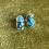 Thumbnail: Egyptian Turquoise Studs   Pair C
