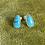 Thumbnail: Egyptian Turquoise Studs | Pair E