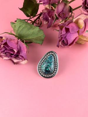 Blue Ridge Turquoise Lapel Pin