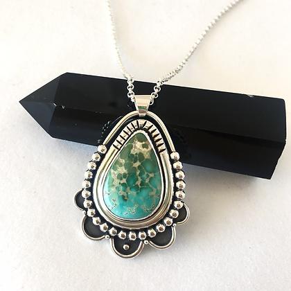 Paradise Pendant | Natural Royston Turquoise