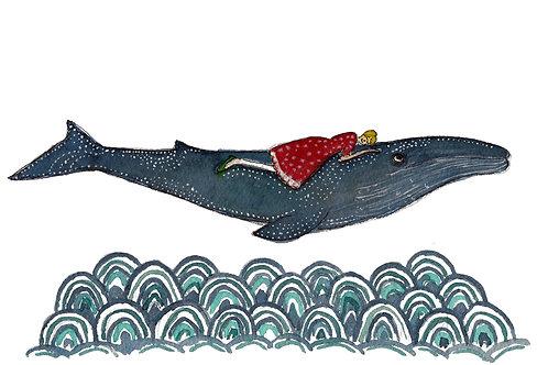 Poster - A menina e a baleia
