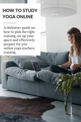 How to Study Yoga Online | A Guide